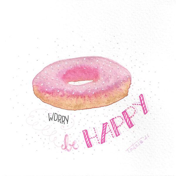 Doughnut worry be happy